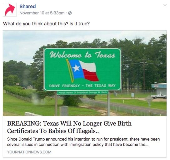 FACT CHECK: Texas No Longer Issuing Birth Certificates to Babies ...