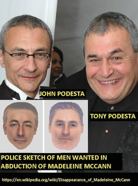 Podesta's Wanted in McCann Kidnapping