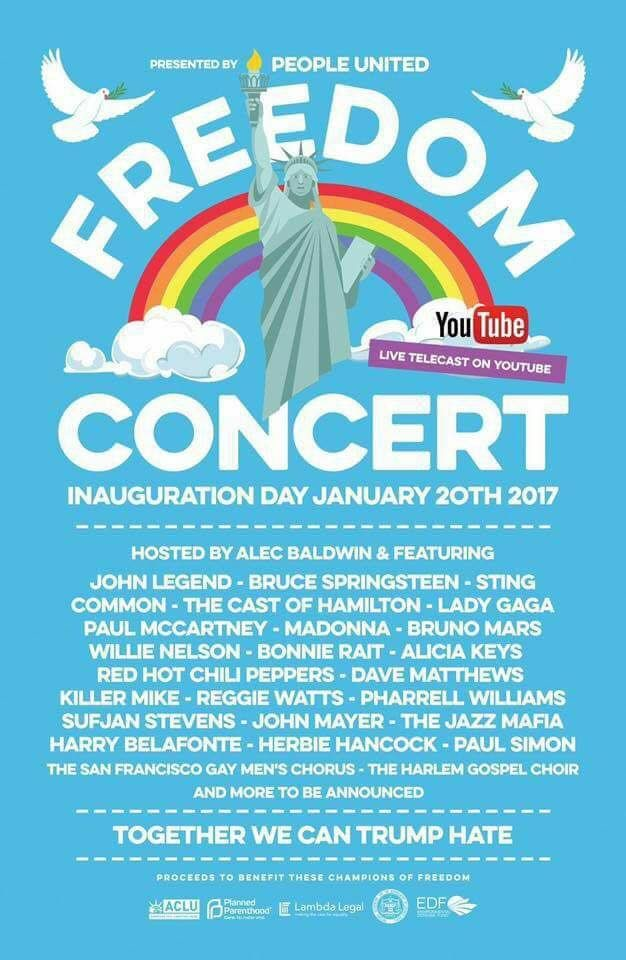'Freedom Concert' Being Planned, But No Details Announced