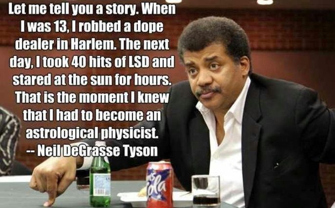 Image result for neil degrasse tyson astrology