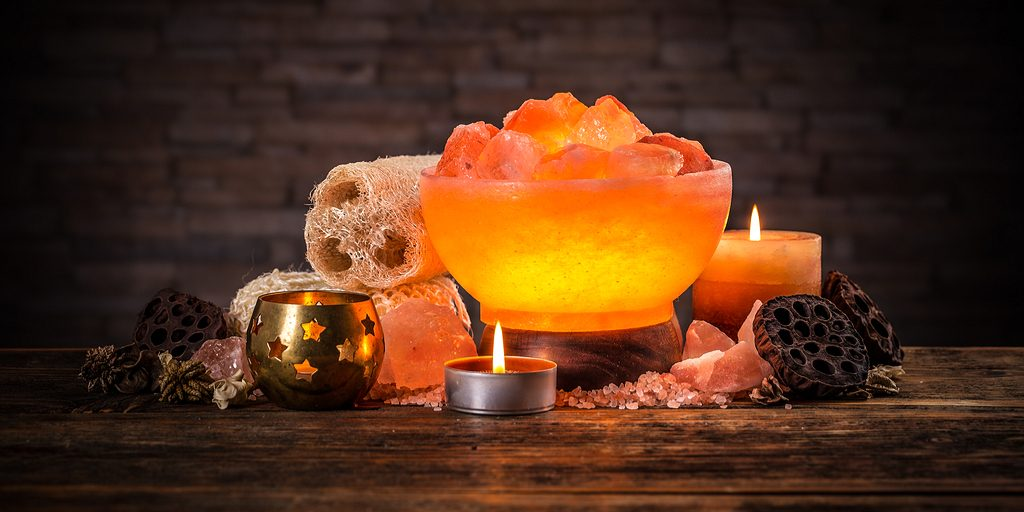 Salt Lamps Cure Everything    If By U201ceverythingu201d You Mean A Lack Of Cozy  Mood Lighting.