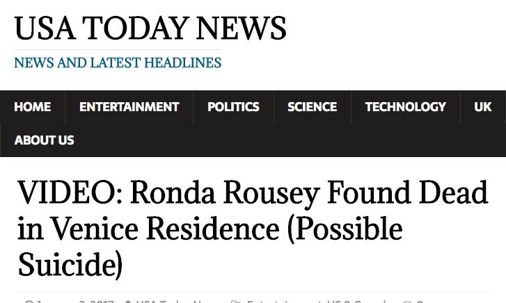 VIDEO__Ronda_Rousey_Found_Dead_in_Venice_Residence__Possible_Suicide__–_USA_Today_News
