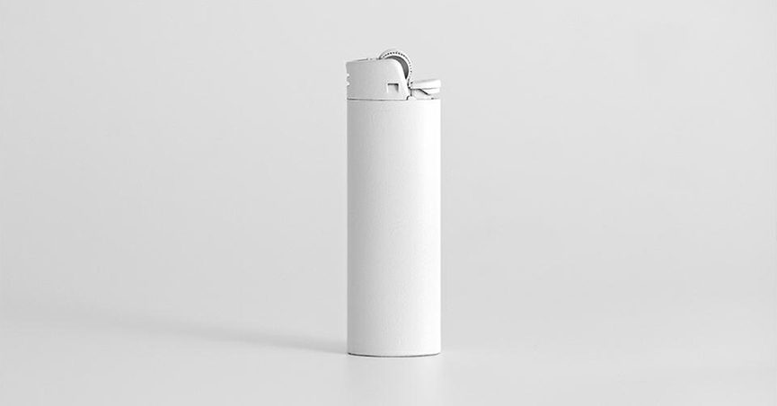 White Bic Lighter 27 Club