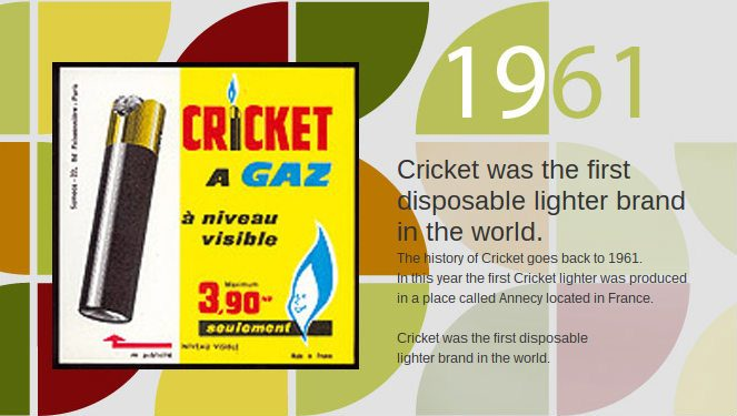 cricket lighters