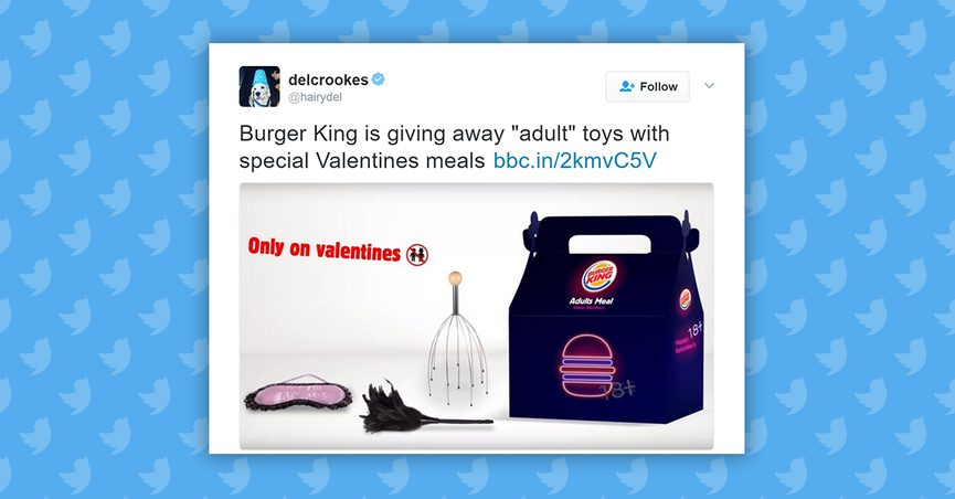 Confusing media coverage led many social media users to believe Burger King  was distributing