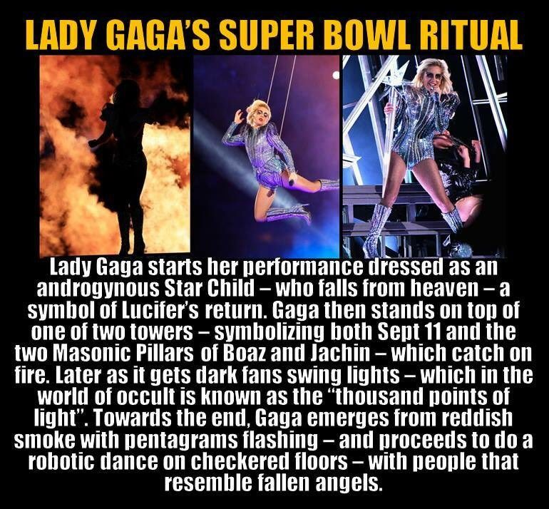 Lucifer Plot: FACT CHECK: Was Lady Gaga's Super Bowl Halftime Show Satanic?