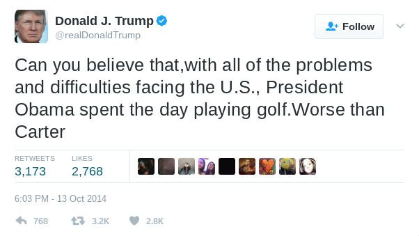 Fact Check Did Trump Golf Six Times After Complaining