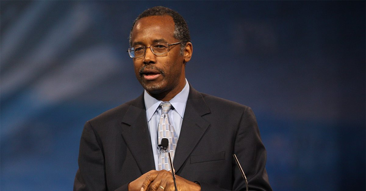 Carson tries to cancel $31K dining set for HUD office