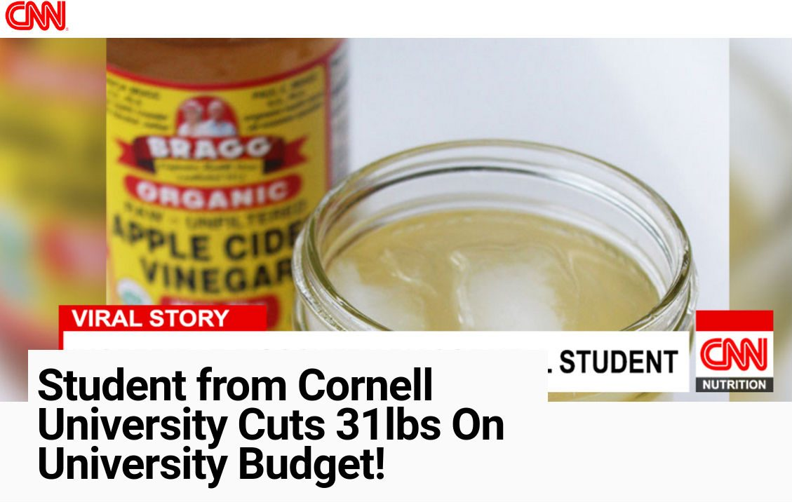 FACT CHECK: Did a Cornell Student Cut 37 Pounds Using ...