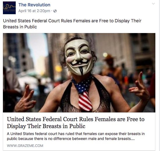 Fact Check Did A Us Federal Court Rule That Women Are Free To