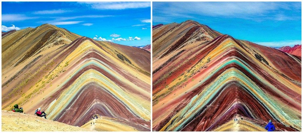 FACT CHECK: Are the 'Rainbow Mountains of Peru' Real?
