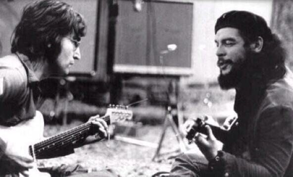 The Original Photograph Appears To Have Been Taken Circa 1972 And It Shows Beatles Singer Playing Guitar With Wayne Tex Gabriel Guitarist For