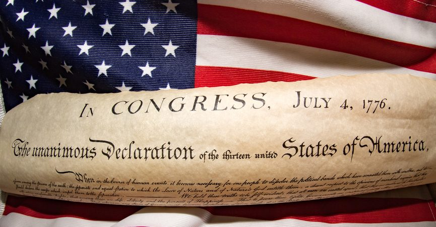 account of the declaration of independence The committee for drawing the declaration of independence desired me to do it it was accordingly done, and being approved by them, i reported it to the house on friday the 28th of june when it was read and ordered to lie on the table.