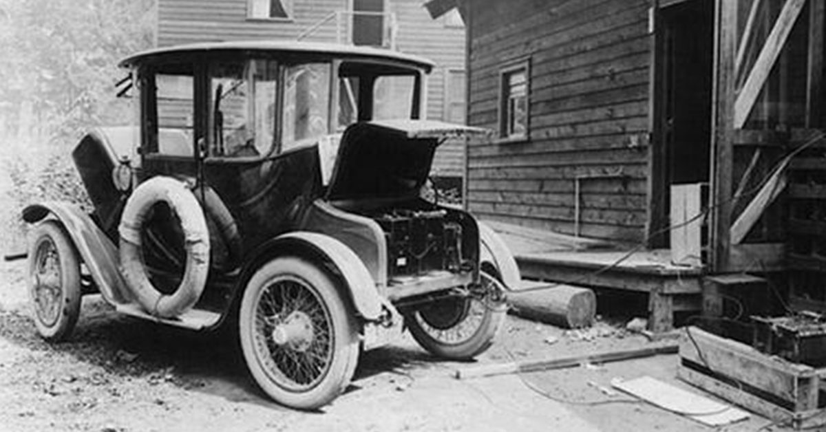 Automobile Companies In Usa >> FACT CHECK: Is this Really an Electric Car From 1905?