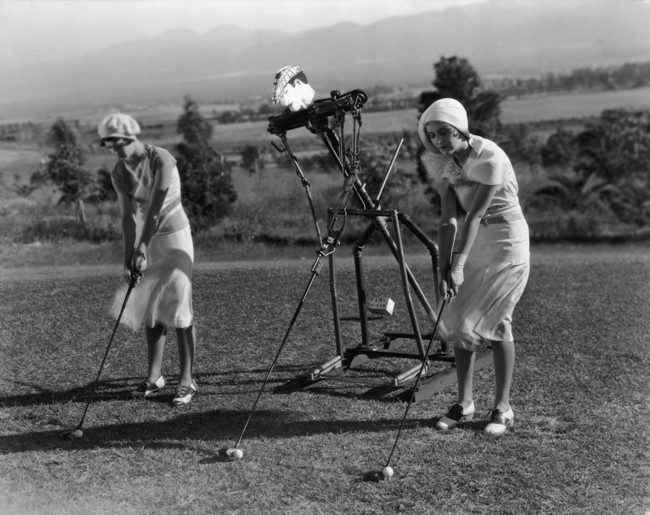 fact check are these golfers getting lessons from a robot trainer