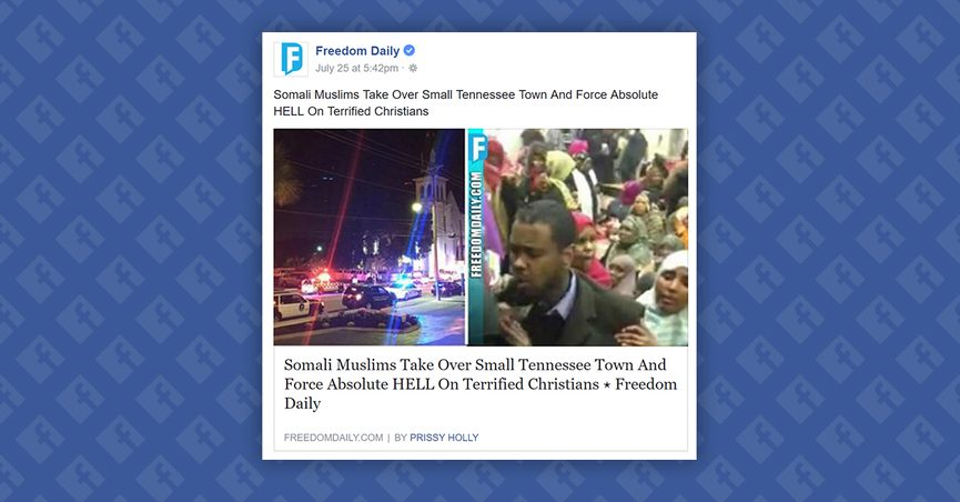 FACT CHECK: Did Somali Muslims Take Over a Small Tennessee ...