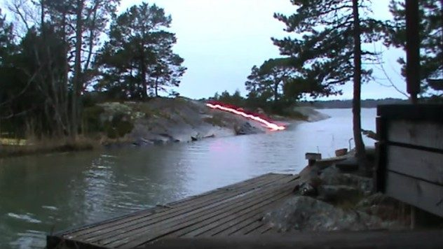 Fact Check Lightning Strikes A River Sparks Explosion