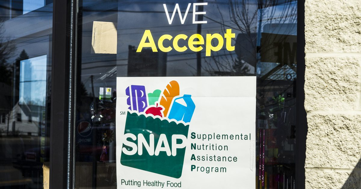 Household Size Snap Food Stamps