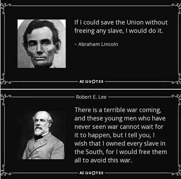 lincolnlee?w=600 fact check lincoln and lee's views on slavery