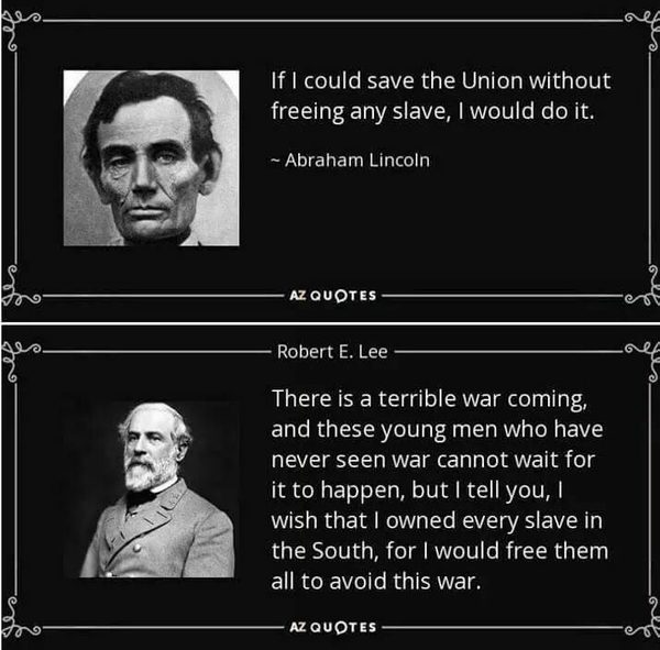 Abraham Lincoln Quotes On Slavery: FACT CHECK: Lincoln And Lee's Views On Slavery