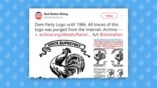 Fact Check Did A State Democratic Party Logo Once Feature The