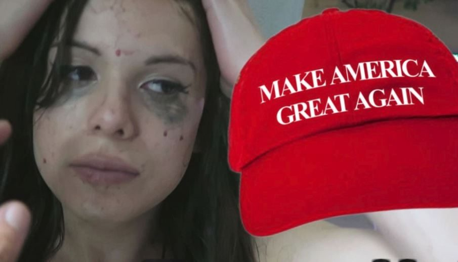 FACT CHECK: Was a Woman Attacked on Camera for Wearing a 'Make America Great Again' Hat in Hollywood?