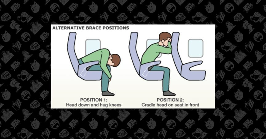crash position