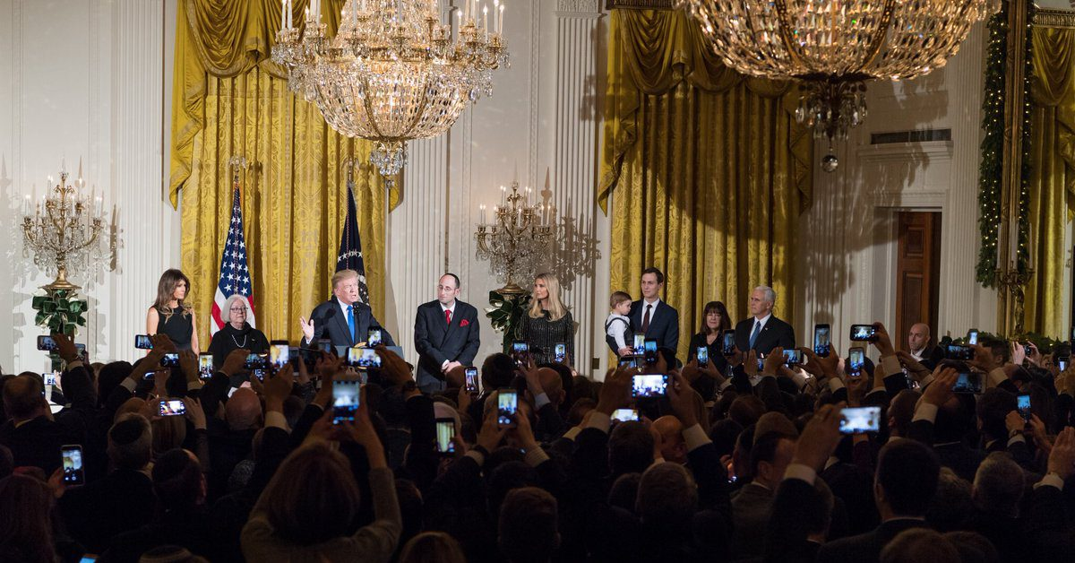 Were Jewish Democrats Banned from White House Hanukkah Party?