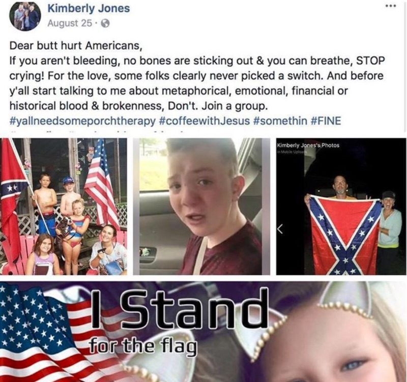 Mom addresses backlash over Confederate flag posts