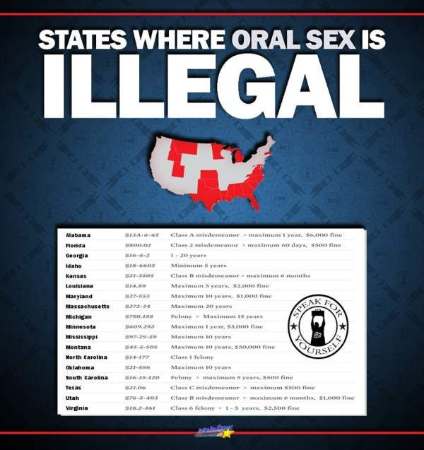 Louisiana oral sex laws
