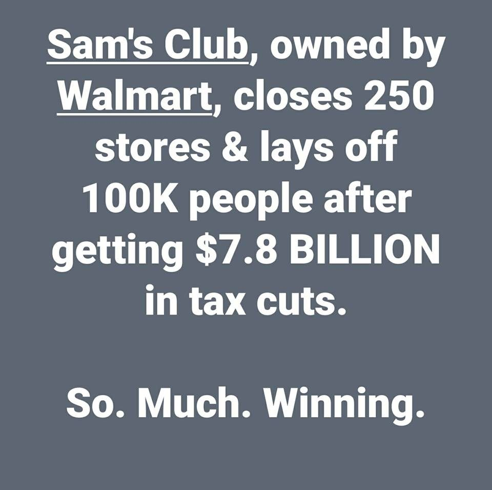 Sam's Club stores abruptly close