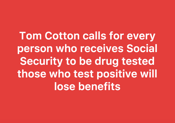 drug testing welfare recipients panel speech Arizona drug tested welfare recipients — here are the shocking results  minute speech with a laundry list  than 24 hours before the event — that welfare recipients pass a drug test .