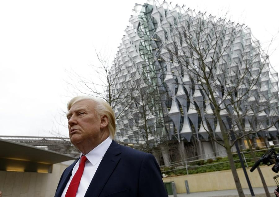 Trump: No Trip to London Because of Embassy Choice