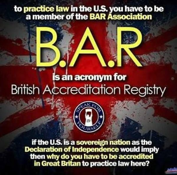 Image result for oath to the bar conspiracy theory