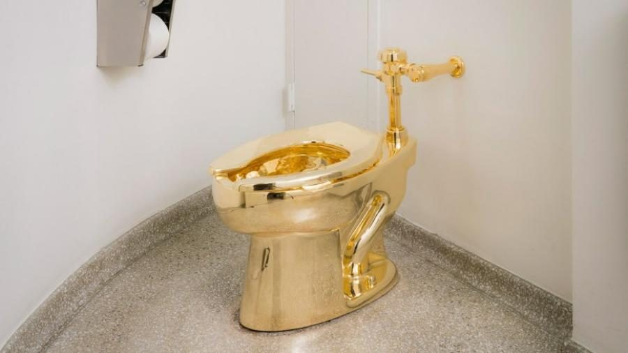 Trumps request Van Gogh from Guggenheim, offered gold toilet instead