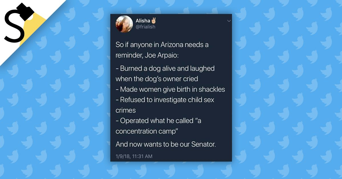 FACT CHECK: Some Real Things Joe Arpaio Has Done