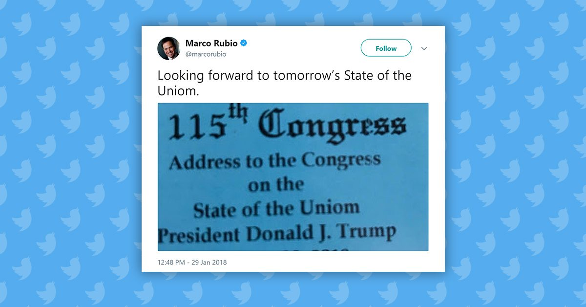 Government flubs tickets for Trump's 'State of the Uniom' address