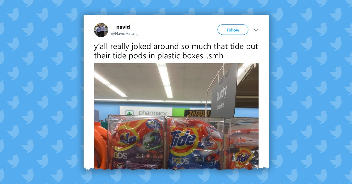 College student hospitalized after eating Tide Pod