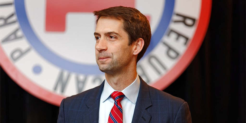 Image result for tom cotton