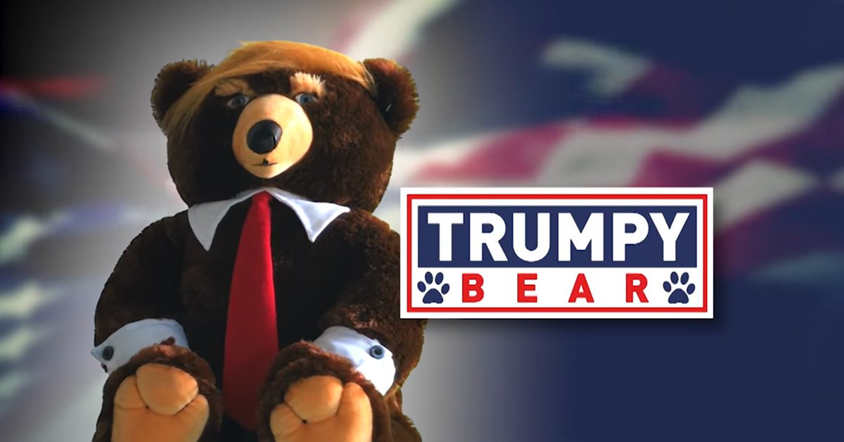 Trumpy the bear