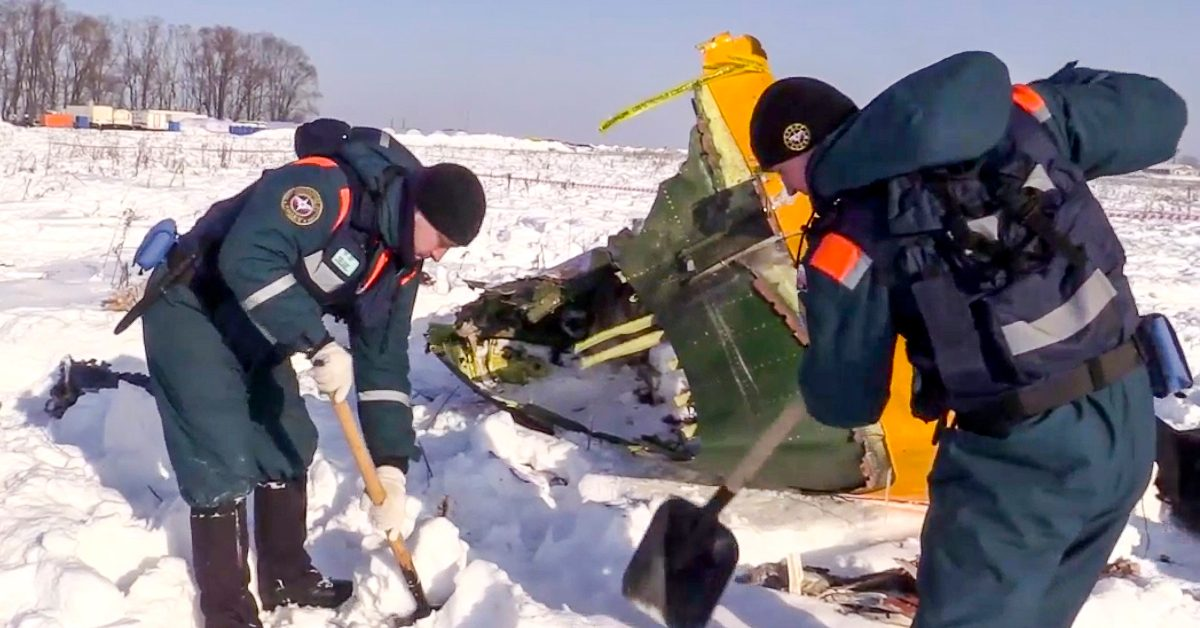 Russian plane crash may be caused by avionics' icing: aviation committee