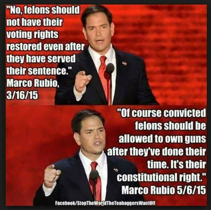 FACT CHECK: Does Marco Rubio Want To Give Felons Right To