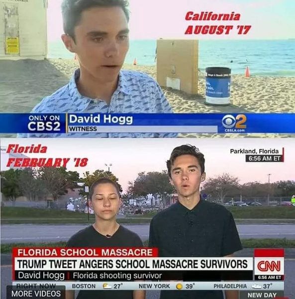 Image result for david hogg's father dhs crisis actor management meme