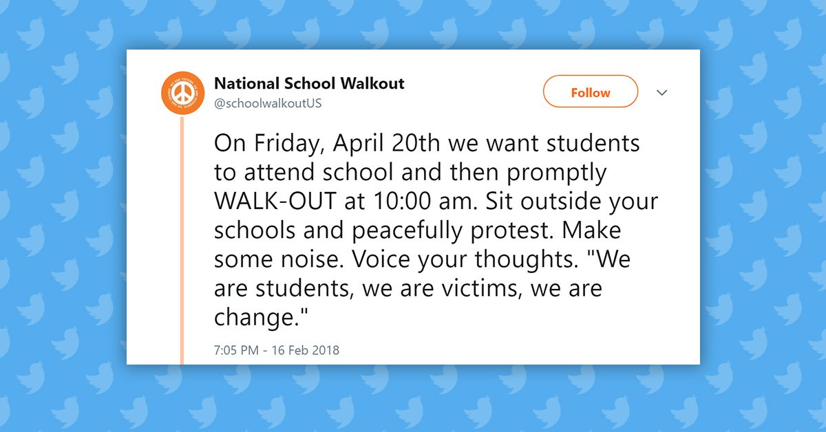 FACT CHECK: Are School Walkouts Planned in Response to the Parkland Mass Shooting?