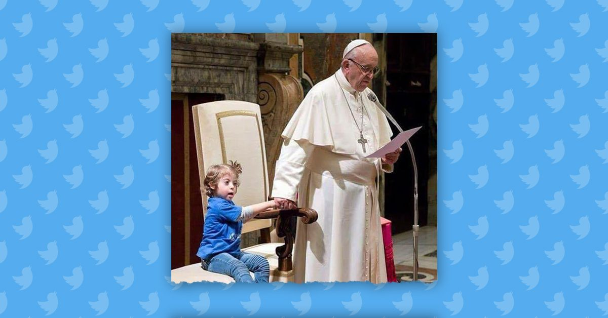 FACT CHECK: Did Pope Francis Allow a Little Girl to Sit With Him During Mass?