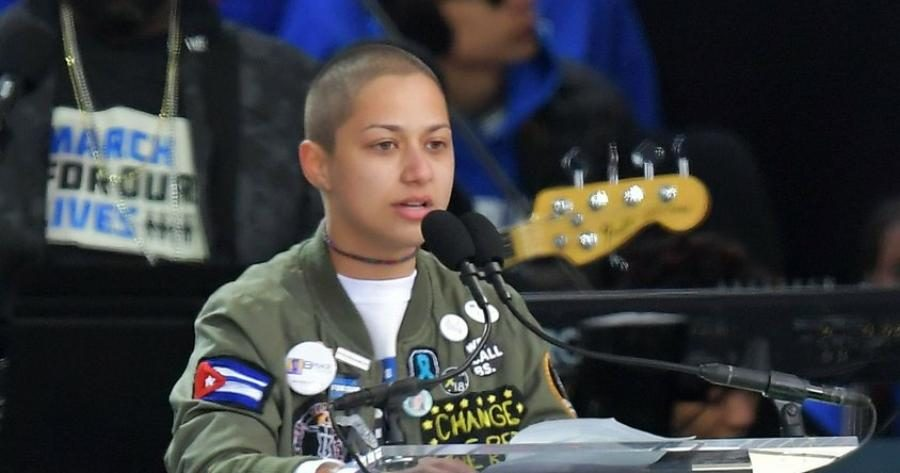 Emma Gonzalez Stands in Silence During Powerful March For Our Lives Speech