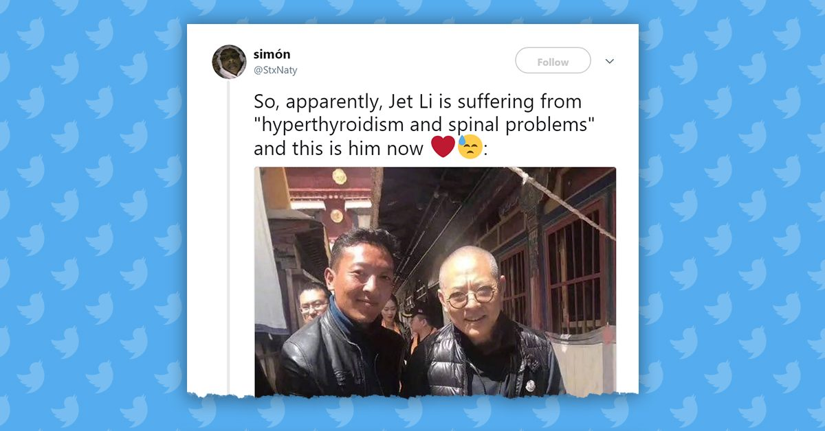FACT CHECK: Is Action Star Jet Li in 'Frail' Health?