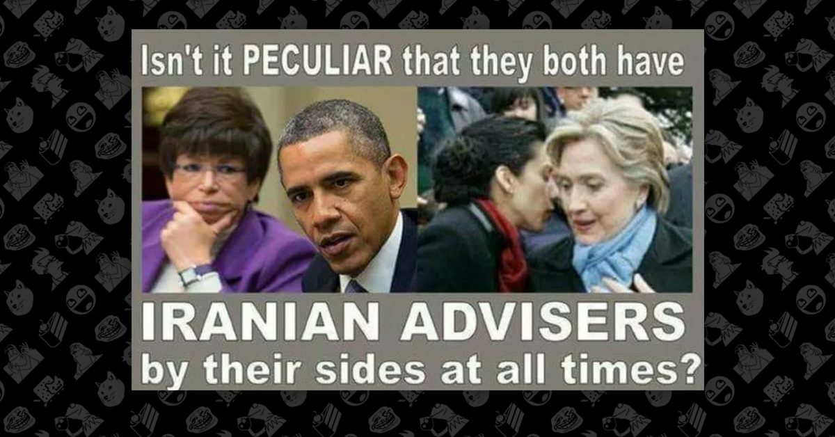 Fact Check Obama And Clinton Have Iranian Advisers