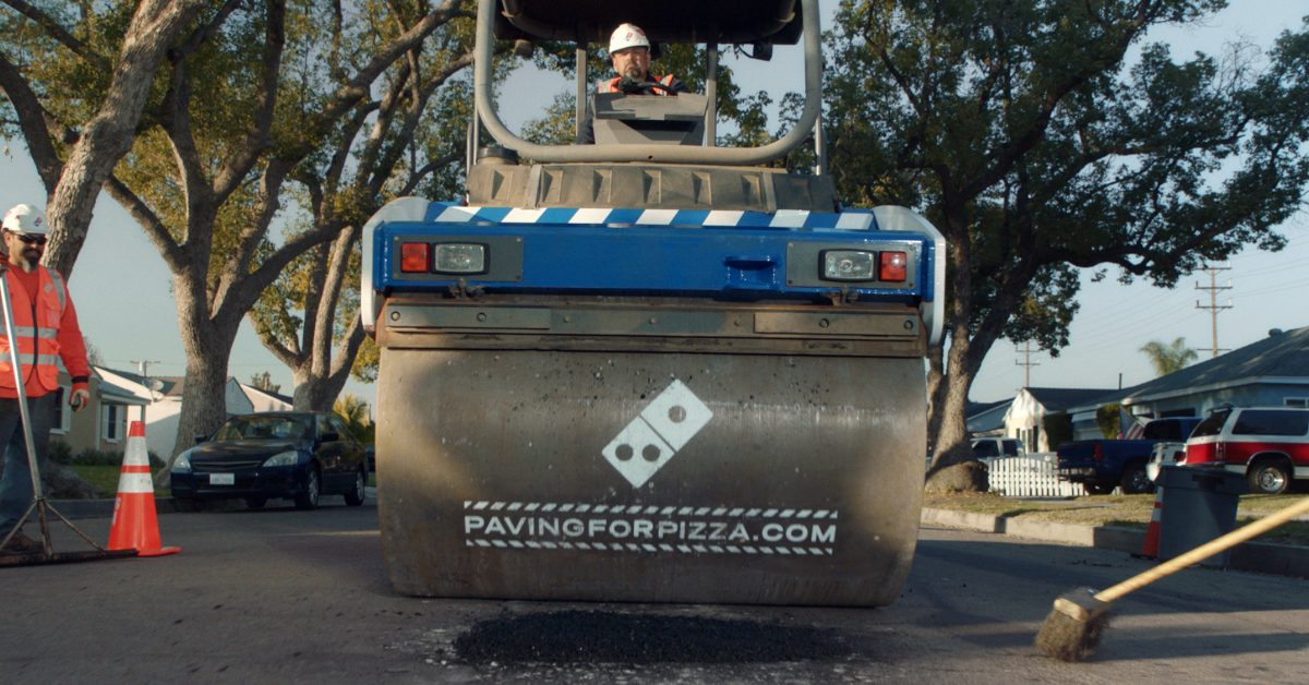 FACT CHECK: Is Domino's Pizza Paving Roads?