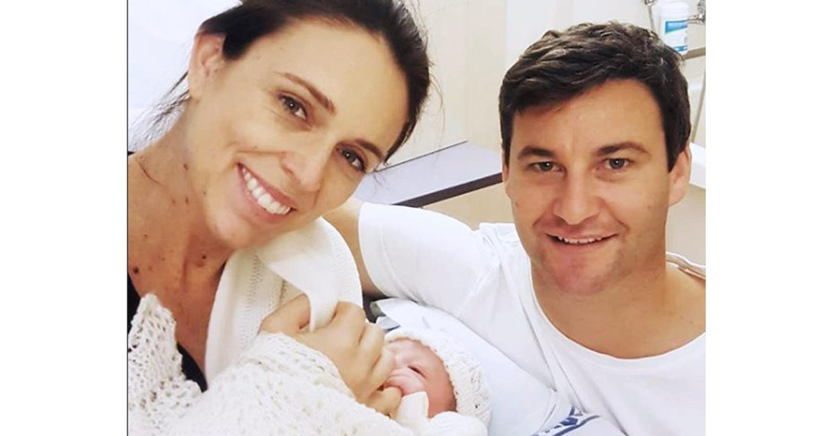 New Zealand Prime Minister Gives Birth, a Rarity for World Leaders in Office